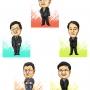 2012 関西テレビ ムハハのたかじん 番組用イラスト